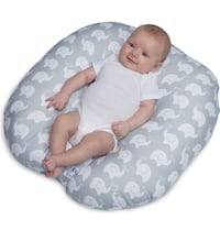 Boppy Pillow Lounger for your baby boy or girl Sterling, 20166