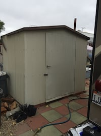 Metal Shed 6 by 8 San Leandro, 94579