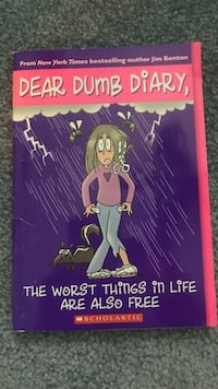 Dear dumb diary, the worst things in life are also free by Jim Benton