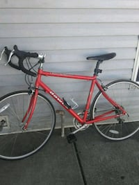 red and black road bike Bellevue, 98007