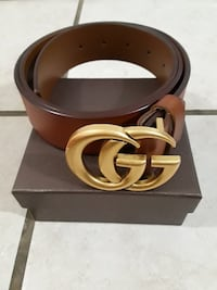 "Gucci Belt New with Dust Bag and Box.Large Size 28-36"" I have a belt h"