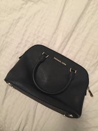 black Michael Kors leather handbag Mississauga, L5E 2G8