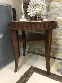 brown wooden 2-layer side table Laval, H7W 2H7