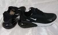 8.5 Black/White Nike 270 FlyKnit Air Max  Men's Shoes Brand New Never Worn Youngsville, 70592