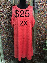 Ladies Size 2X Lace Dress Edmonton, T6L 6Z6
