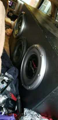 black and gray Pioneer subwoofer Reno, 89512