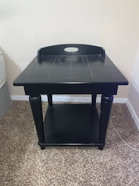 Small black side table Ellicott City