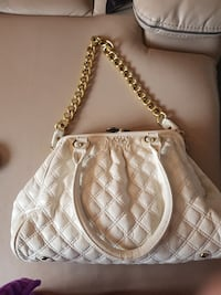 quilted white leather 2-way handbag Burnhope, DH7 0BB