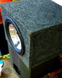 """10"""" sub and if u ask we have amps just ask Maple Ridge, V2X 7N5"""