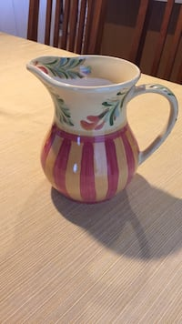 Tuscan  inspired water pitcher Johnston, 50131