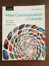 Mass Communication in Canada Textbook
