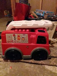 Kids fire truck block included  Cambridge, N1T 2E1