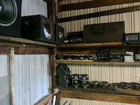Speakers amps boxes and radios all of it five hund Carrollton, 44615