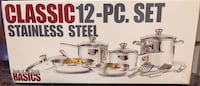 Never Used 12 pc. Stainless Steel Cookware Set Upper Marlboro, 20772