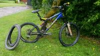 mountain bike full-suspension blu e nera Boffalora d'Adda, 26811