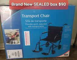 New in box, Transport Chair
