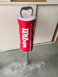 red and white Century heavy bag Surrey, V4A 9W2