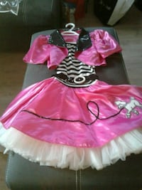 girl's pink and white tutu dress Barrie, L4N 5S5