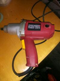 Half-inch electric impact wrench