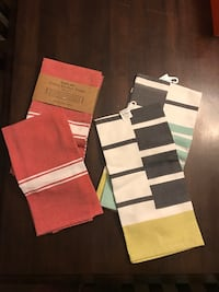 Seven kitchen towels new in packaging