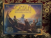 Catan explorers and pirates expantion boardgame Lexington, 40515