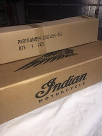 Indian chieftain/roadmaster stock exhaust pipes (dealer take offs) Joliet, 60431