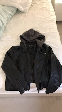 Forever 21 leather jacket  Toronto, M3C 3P3