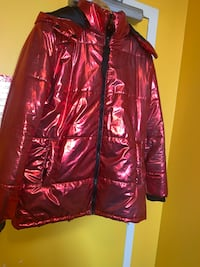 FOREVER 21 RED SHINY JACKET Toronto, M6P 2T3