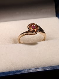 Gold ring10k 6-6.5 size L'Île-Perrot