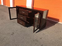 Ashley home TV stand like brand new I offer the delivery  Tampa, 33611