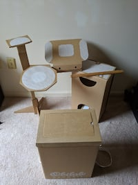 The cardboard DRUMKIT is acoustic, affordable, eas Springfield, 22153