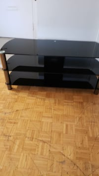 black glass TV stand with mount Mississauga, L5J 2S8