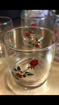 Set of 4 Vintage small glasses Bakersfield, 93309