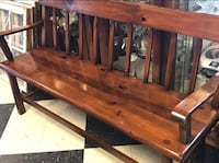 Beautiful vintage wood bench. Very well made. Ruckersville, 22968