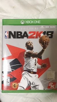 Nba 2k18 xbox one game  419 mi