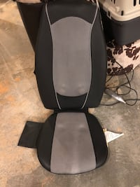 Car seat heater and massager