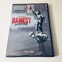 NEW BANKSY Does New York DVD (Sealed) Palmdale, 93550