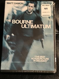 The Bourne Ultimatum Full Screen (Still factory sealed).