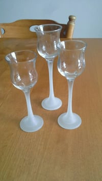 Partylite Iced Crystal Trio