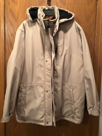 New Men's all weather, waterproof, lined XL, beige coat Alsip, 60803