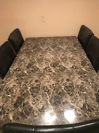 Marble table only (no chairs) Toronto, M6S 1P3
