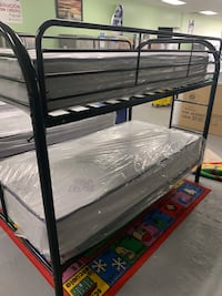 Bunk bed specials with both mattresses $289!!!No credit needed