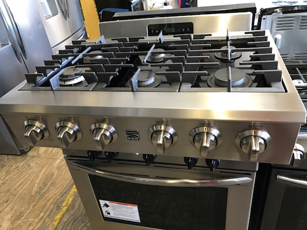 Used New Out Of Box Kenmore Pro 34913 36 Gas Cooktop For In Englewood Letgo