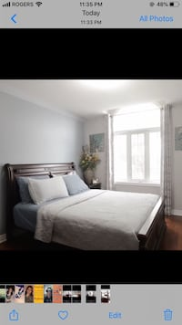 Queen bed, dresser and night stand (3 piece) Brampton, L7A 3V1