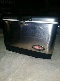 Coleman 54 qt. Stainless steel-belted cooler  Citrus Heights, 95621