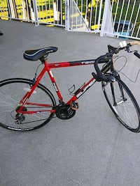 red and black road bike Surrey, V3W 9H9