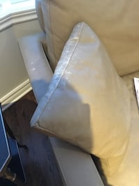 Beige two seat couch