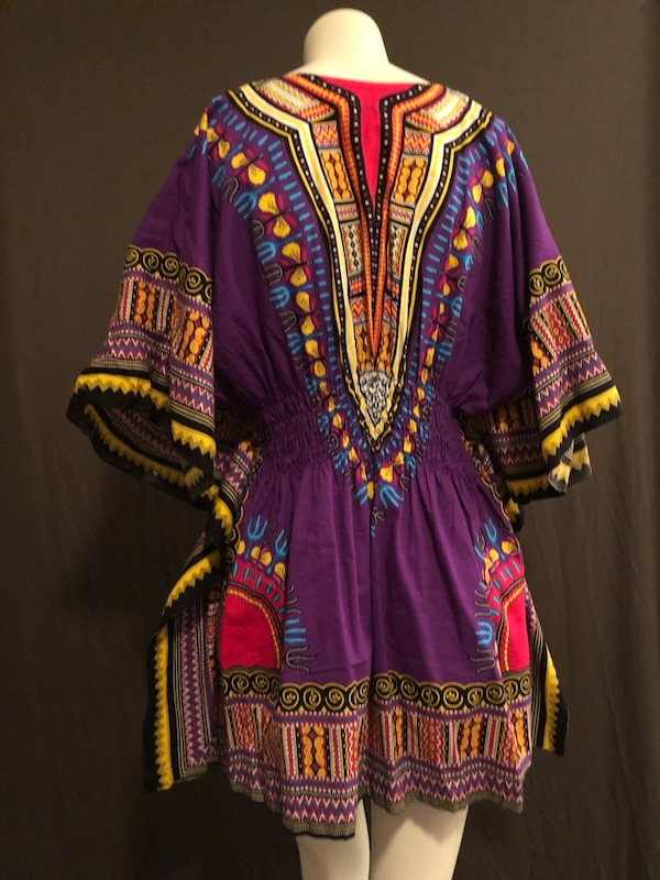 8f39942000c Used Women s purple and yellow traditional dashiki dress for sale in ...