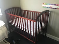 baby's brown wooden crib Fairfax, 22032