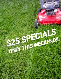 Lawn mowing service $25 $25 $25 Anne Arundel County